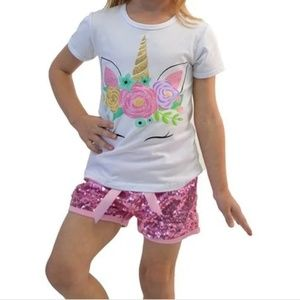 Childrens unicorn outfit